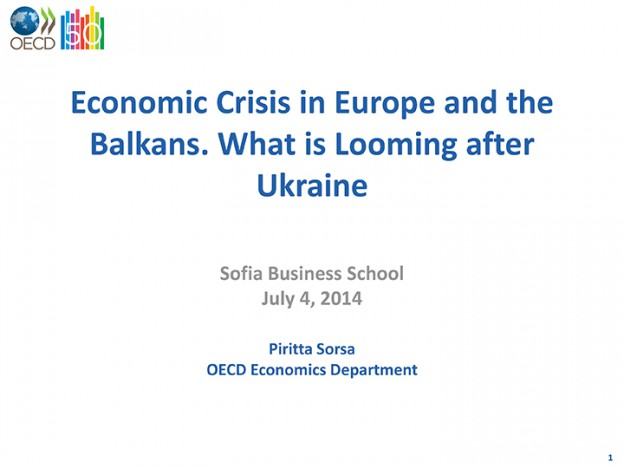 Crisis In Europe And The Balkans, 04.07.2014