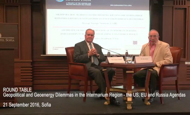 Geopolitical & Geoenergy Dilemmas in the Intermarium Region - the US, EU and Russia Agendas, Mr. S. Enders Wimbush
