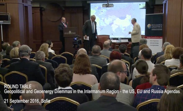 Round Table: Geopolitical & Geoenergy Dilemmas in the Intermarium Region - the US, EU and Russia Agendas, Mr. Thomas Pyle
