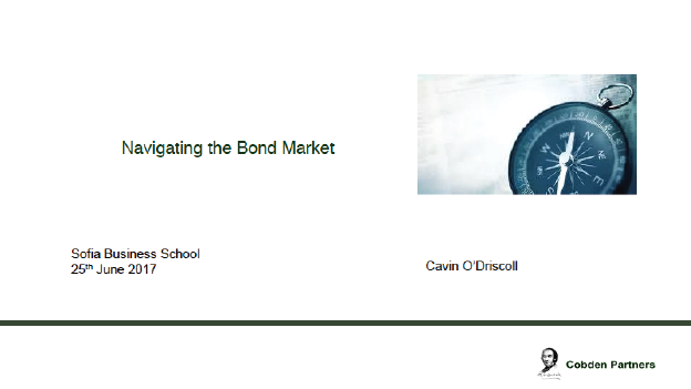 Navigating The Bond Market, Cavin O'Driscoll